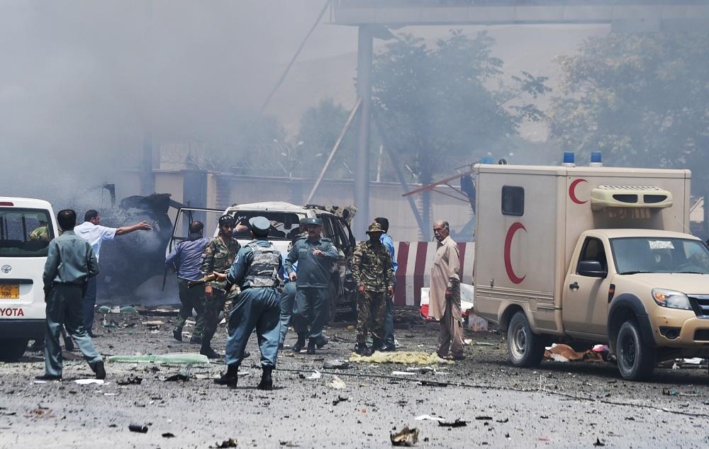 ავღანეთში, მეჩეთთან თვითმკვლელმა ტერორისტმა თავი აიფეთქა