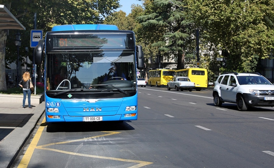 საღამოს საათებში ავტობუსების 34 მარშრუტზე დამატებითი რეისები შესრულდება