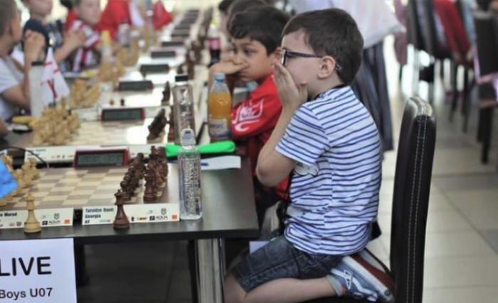 7 წლის დავით თათვიძე ევროპის ჩემპიონია