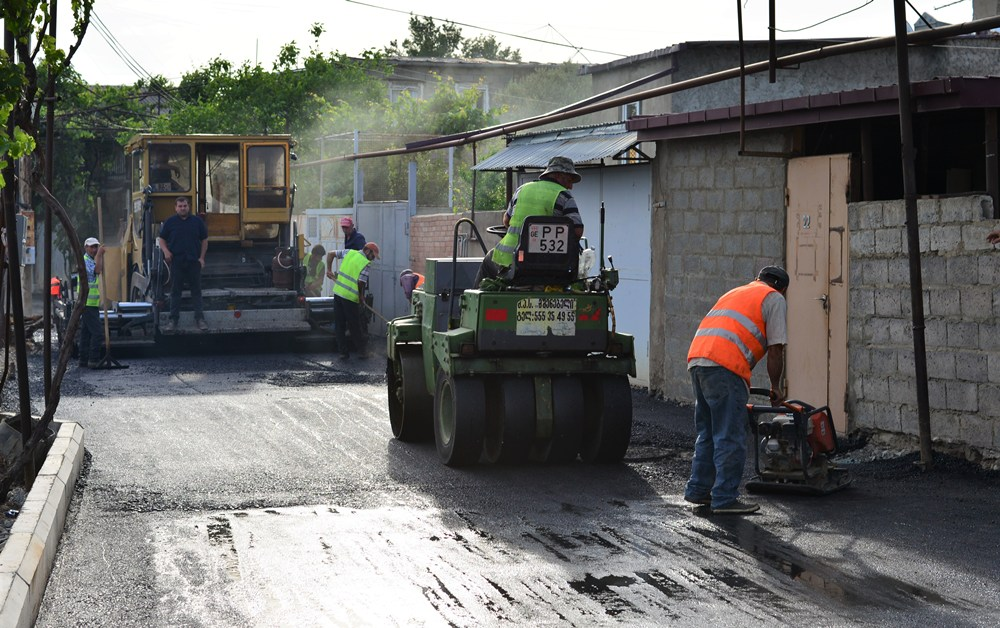 ნაძალადევის რაიონში, ძმობის II ქუჩაზე საგზაო ინფრასტრუქტურის მოწესრიგება მიმდინარეობს