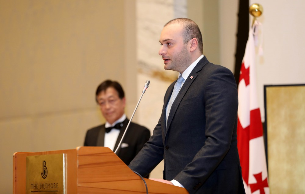 პრემიერი - ვაფასებთ იაპონიის უმნიშვნელოვანეს თანადგომას, რომელსაც განსაკუთრებული წვლილი შეაქვს საქართველოს განვითარების პროცესში