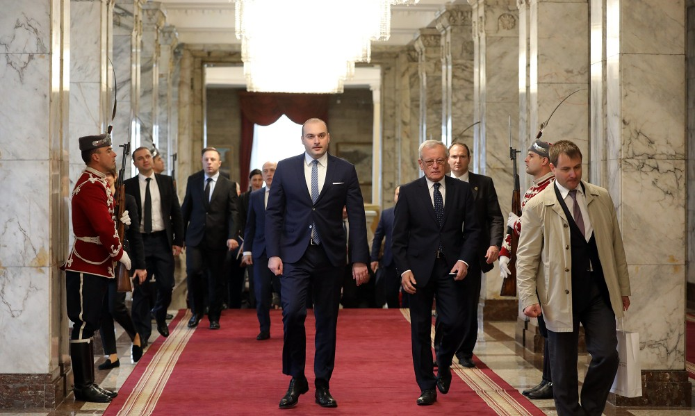 საქართველოს პრემიერ-მინისტრი ბულგარეთის რესპუბლიკის პრეზიდენტს შეხვდა