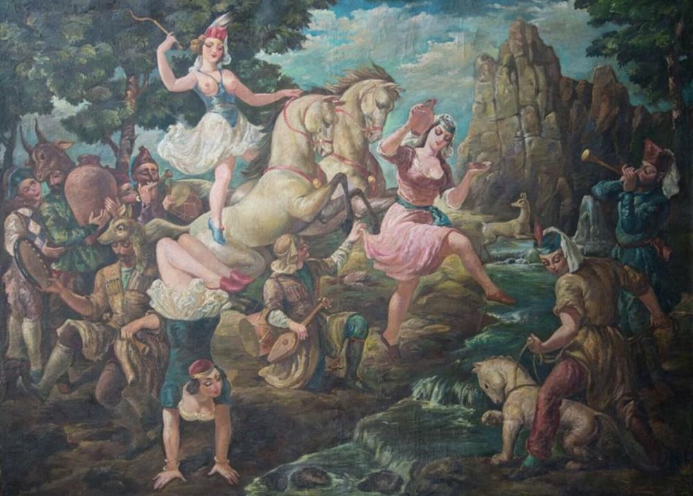 ლადო გუდიაშვილის ნახატი eBay-ზე იყიდება
