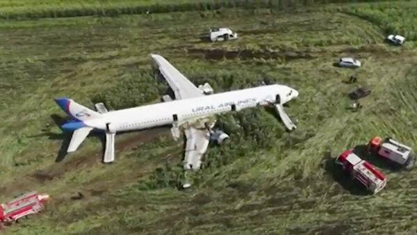 რუსეთში თვითმფრინავი სიმინდის ყანაში ავარიულად დაეშვა - არიან დაშავებულები