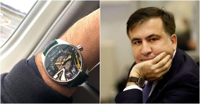 რა ღირს და რით არის გამორჩეული საათი, რომლის შეძენის სიხარულს მიხეილ სააკაშვილი ვერ მალავს