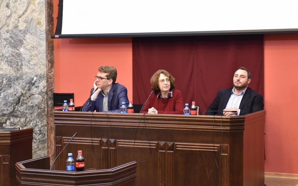 """ფრაქცია """"ქართული ოცნება - სოციალ-დემოკრატებმა"""" საზოგადოების კვლევის ცენტრთან ერთად კონფერენცია გამართა"""