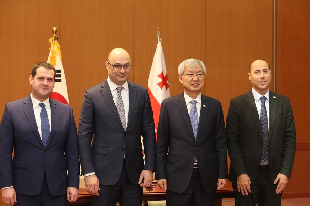 საქართველოსა და  კორეის რესპუბლიკას შორის ეკონომიკური თანამშრომლობის შესახებ შეთანხმებას მოეწერა ხელი