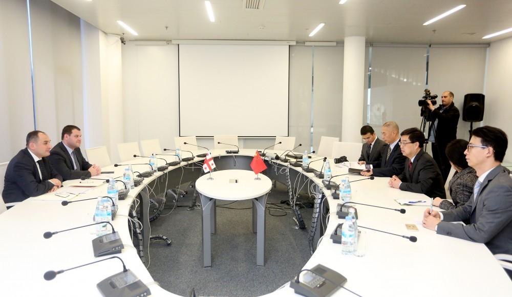 მნიშვნელოვანია ჩინელი ინვესტორების დაინტერესება ანაკლიის პორტითა და თავისუფალი ინდუსტრიული ზონით - ქუმსიშვილი