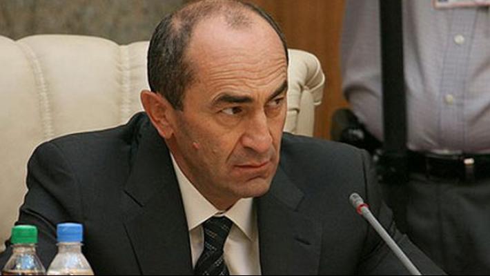 სომხეთის ყოფილი პრეზიდენტი რობერტ ქოჩარიანი დააპატიმრეს