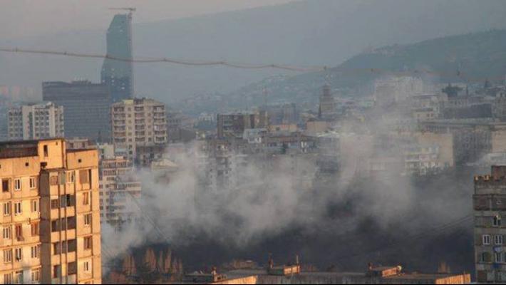 თბილისში ჰაერის ხარისხი გაუარესდა