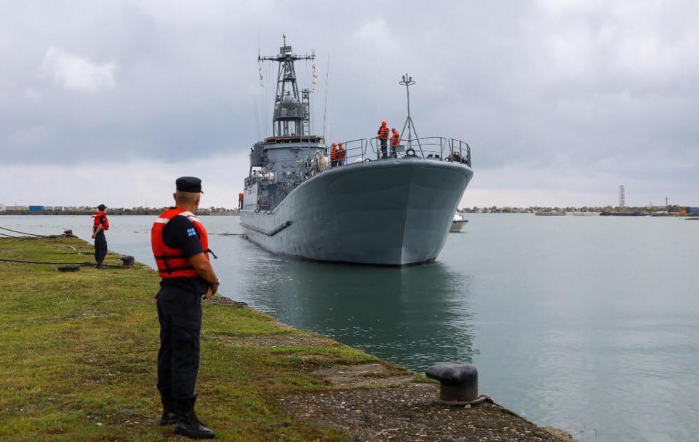 უკრაინელი სამხედროები Agile Spirit 2021-ში მონაწილეობის მისაღებად საქართველოში გემით ჩამოვიდნენ