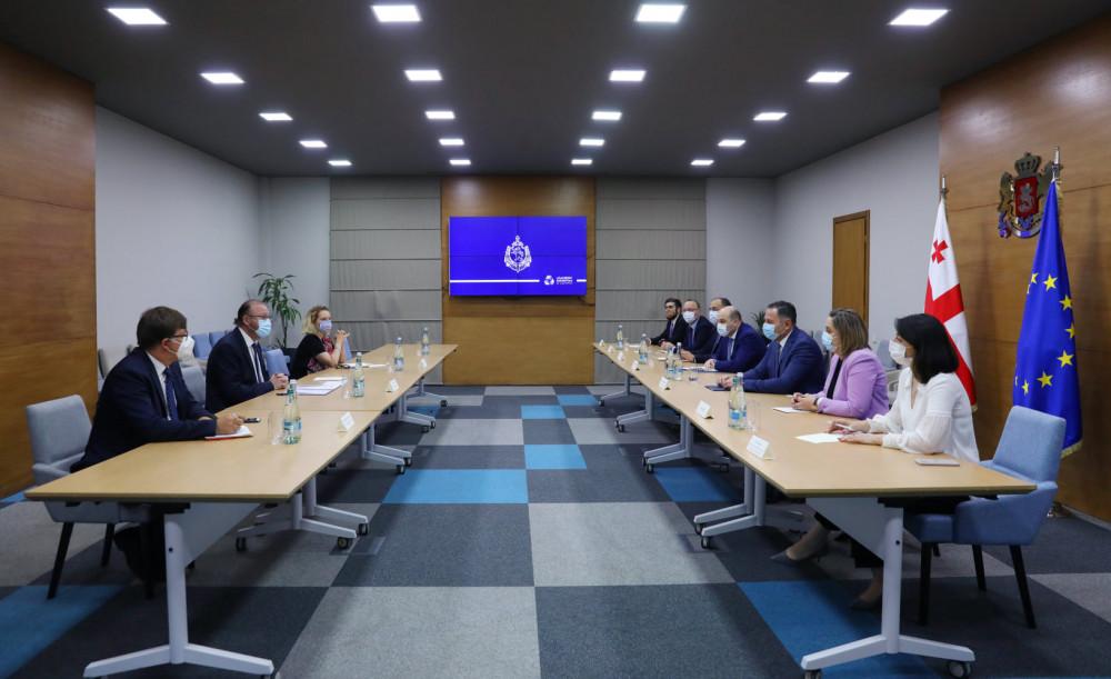 შინაგან საქმეთა მინისტრმა ევროპის საბჭოს საპარლამენტო ასამბლეის პრეზიდენტთან შეხვედრა გამართა