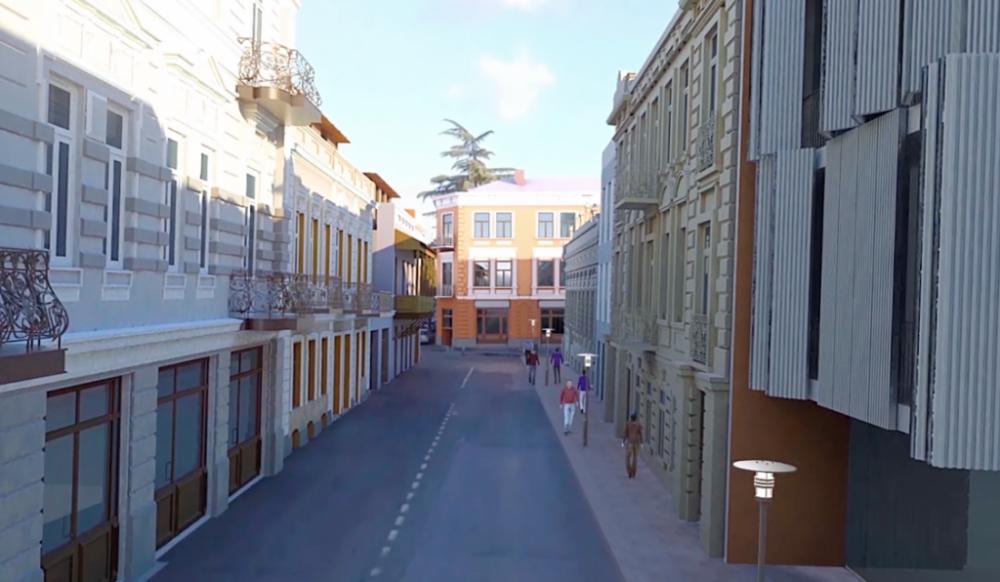 ორბელიანის რეაბილიტირებული მოედანი და შვიდი მიმდებარე ქუჩა უახლოეს მომავალში გაიხსნება