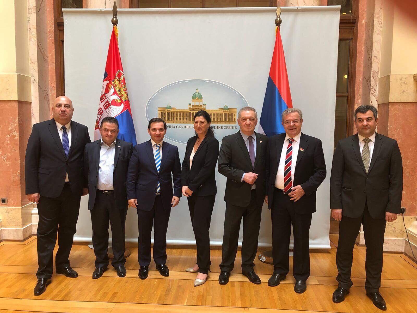 საპარლამენტო თანამშრომლობა მაქსიმალურად შეუწყობს ხელს სერბეთ-საქართველოს შორის პოლიტიკურ და ეკონომიკურ კავშირებს - სოფიო ქაცარავა