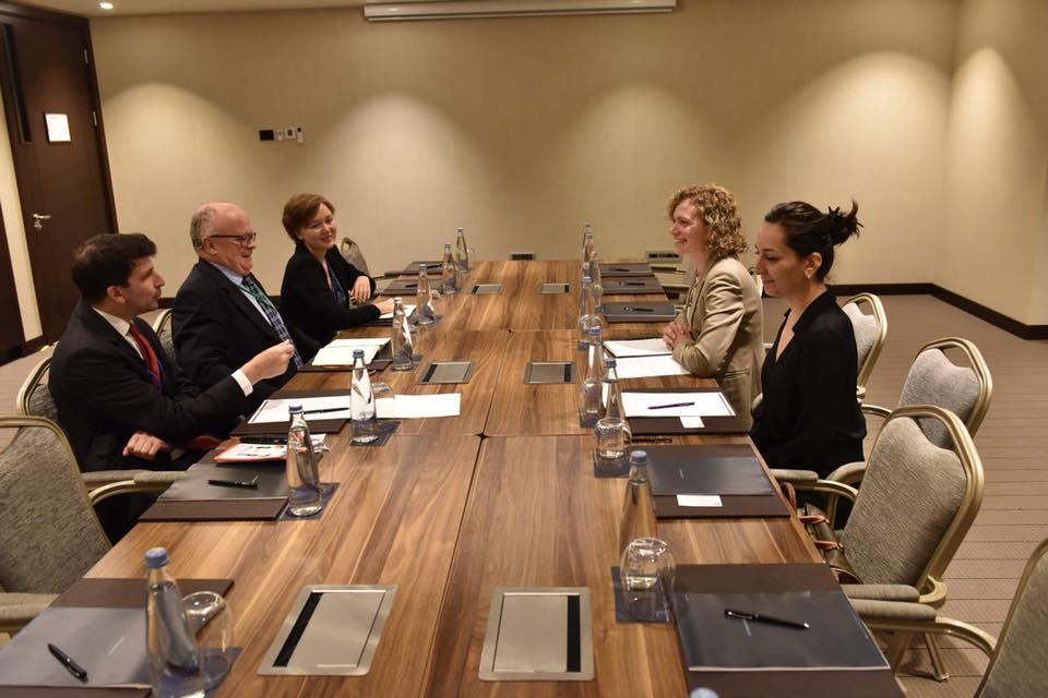 თამარ ხულორდავა ავსტრიის აღმოსავლეთ პარტნიორობის საკითხებში საგარეო საქმეთა სამინისტროს სპეციალურ წარმომადგენელს შეხვდა