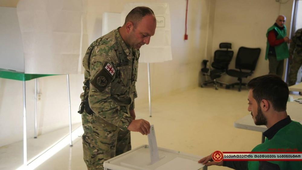 ავღანეთში საქართველოს საპრეზიდენტო არჩევნების მე-2 ტური გაიმართა