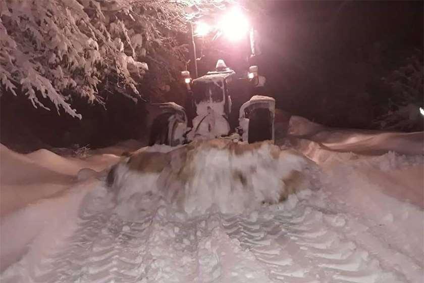 ქედაში ზვავი ჩამოწვა - მაღალმთიან აჭარაში თოვლმა პრობლემები შექმნა