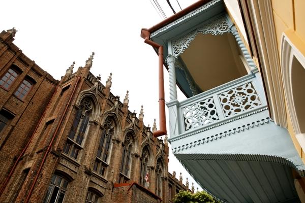 დადიანის N34-ში მე-19 საუკუნის საცხოვრებელი სახლის რეაბილიტაცია დასრულდა