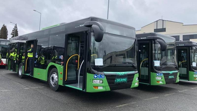 13 მაისიდან მწვანე ავტობუსები N85 და N95 მარშრუტებზე იმოძრავებენ