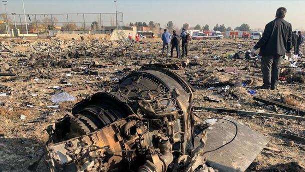 ირანში უკრაინული თვითმფრინავის ჩამოგდებაში ეჭვმიტანილები დააკავეს