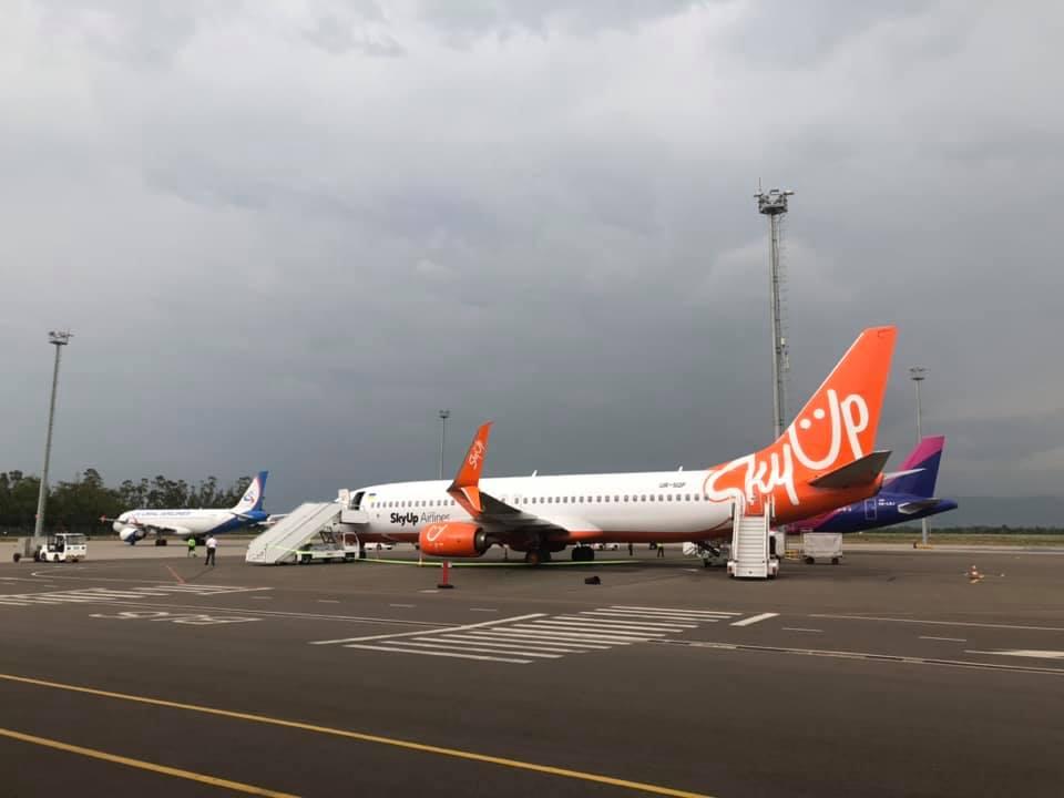 ქუთაისის აეროპორტში ოპერირება ახალმა დაბალბიუჯეტიანმა ავიაკომპანია SKY UP AIRLINES-მა დაიწყო