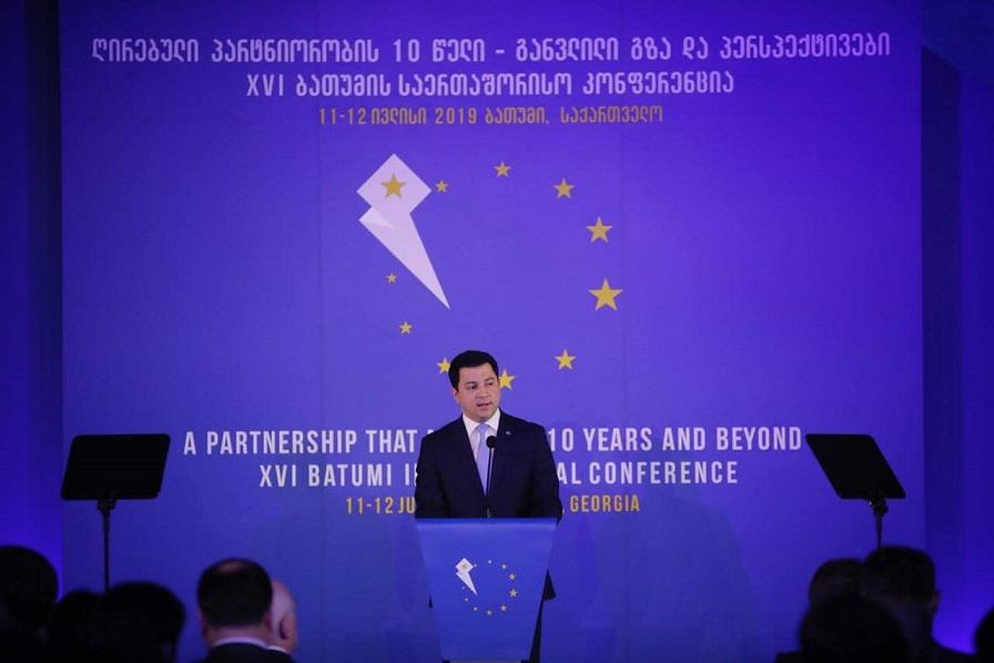 არჩილ თალაკვაძე: დემოკრატიის ამ დონეს, მიღწევებსა და უსაფრთხოებას ევროკავშირისგან უფრო ძლიერი ეკონომიკური მხარდაჭერა ჭირდება