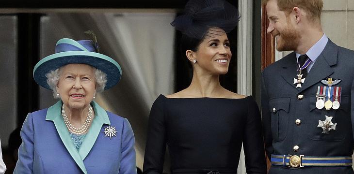 დედოფალმა პრინცი ჰარისა და მისი მეუღლის გადაწყვეტილებას მხარდაჭერა გამოუცხადა