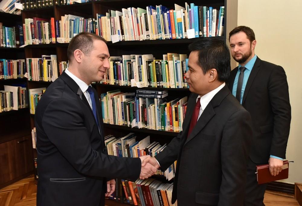გივი მიქანაძე ინდონეზიის რესპუბლიკის სახალხო საკონსულტაციო ასამბლეის აპარატის უფროსს შეხვდა