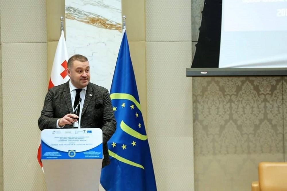 ბექა ოდიშარია: ევროპის საბჭოს მხარდაჭერით, საქართველო  დემოკრატიული ინსტიტუტების მშენებლობისა და განმტკიცების მონაწილეა. ამ პროცესებში აქტიურად უნდა იყოს ჩართული ქართული დიასპორა და ჩვენ გვაქვს მათი თანადგომის იმედი