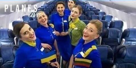 ბოლო ფოტო აფრენამდე - უკრაინული თვითმფრინავის ეკიპაჟის წევრები
