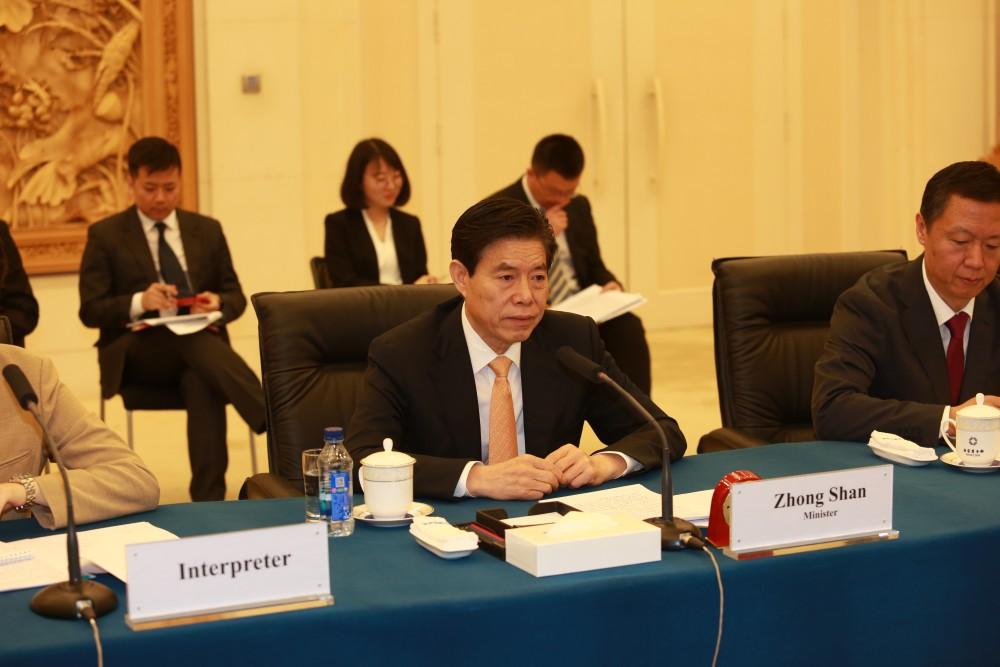 თავისუფალი ვაჭრობის შეთანხმება ორმხრივი სავაჭრო სტატისტიკაზე უკვე დადებითად აისახა - ჩინეთის კომერციის მინისტრი