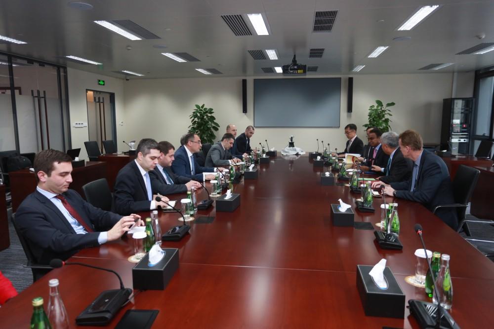 AIIB ანაკლიის პორტის პროექტით დაინტერესდა