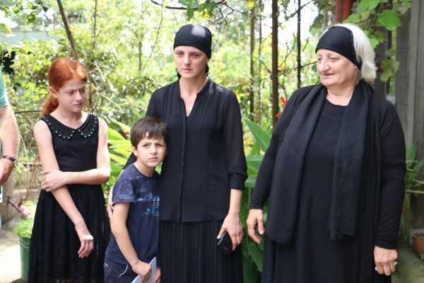 გიგა ოთხოზორიას ოჯახი ტატუნაშვილის სამძიმარზე აპირებს წასვლას