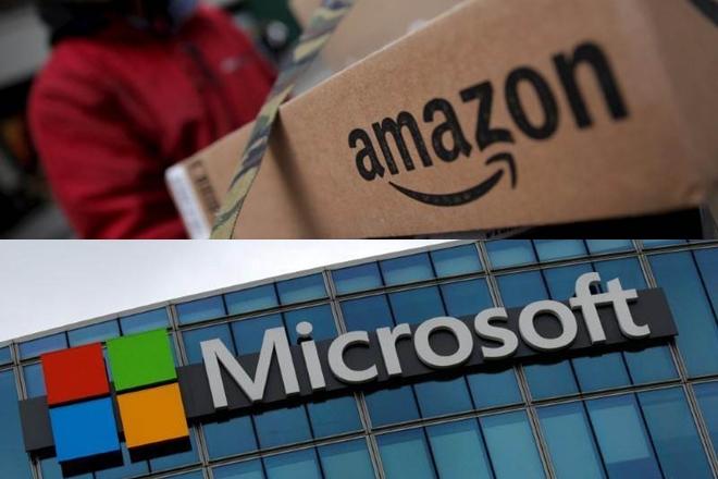 Amazon-მა საბაზრო ღირებულებით Microsoft-ს გაუსწრო