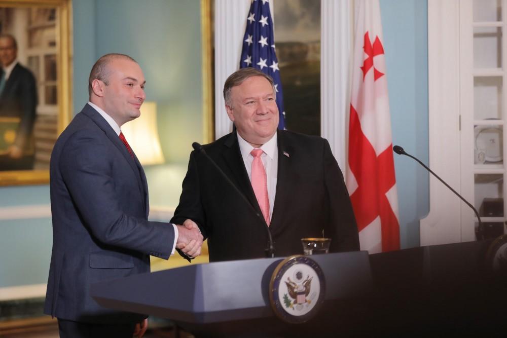 მამუკა ბახტაძე: ბოლო 10 წლის განმავლობაში ჩვენ მივაღწიეთ აშშ-სთან დინამიურ და ყოვლისმომცველ თანამშრომლობას
