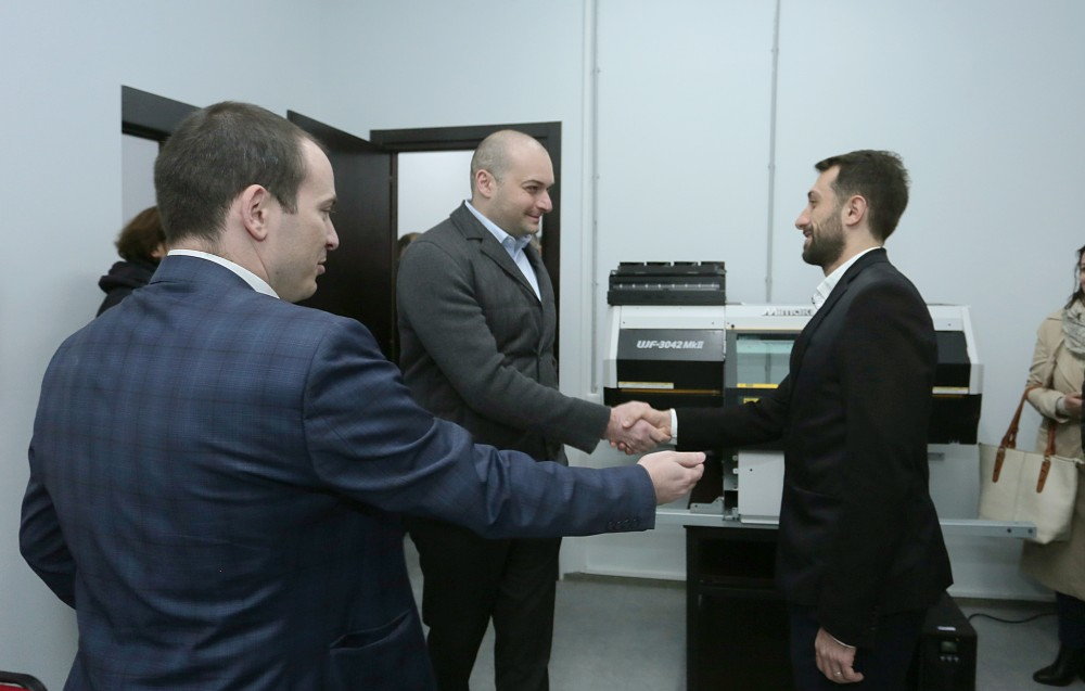 პრემიერ-მინისტრი თელავის ტექნოპარკში იმყოფებოდა