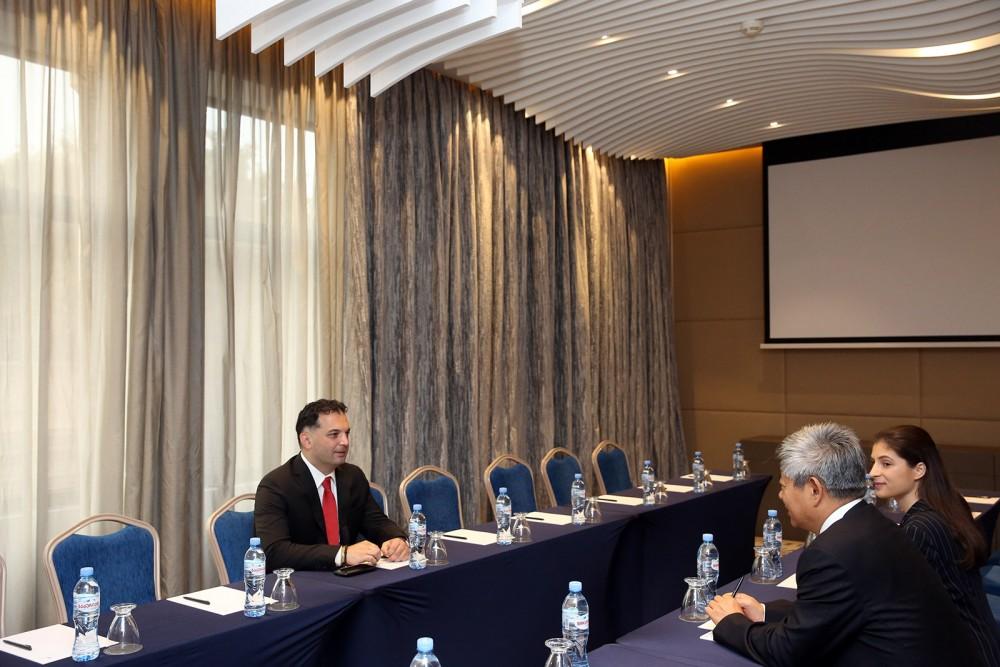 ილია ელოშვილი საქართველო-ჩინეთის ინვესტირებისა და თანამშრომლობის სემინარს დაესწრო