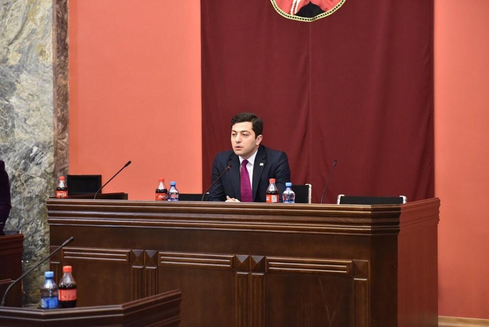 რეგიონული პოლიტიკის კომიტეტი შერიგებისა და სამოქალაქო თანასწორობის საკითხებში სახელმწიფო მინისტრს მოუსმენს