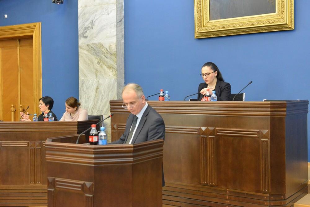 პარლამენტში ადამიანის უფლებების დაცვის 2016-2017 წლების სამთავრობო სამოქმედო გეგმის შესრულების ანგარიში მოისმინეს