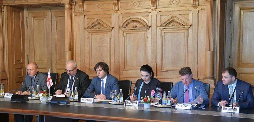 ირაკლი კობახიძე შვეიცარიის მიგრაციის სახელმწიფო სამდივნოს ვიცე-დირექტორს შეხვდა