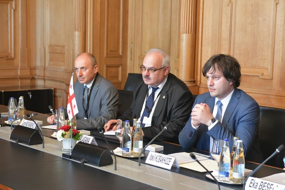 ირაკლი კობახიძე შვეიცარიის კონფედერაციის ეროვნული საბჭოს თავმჯდომარეს შეხვდა