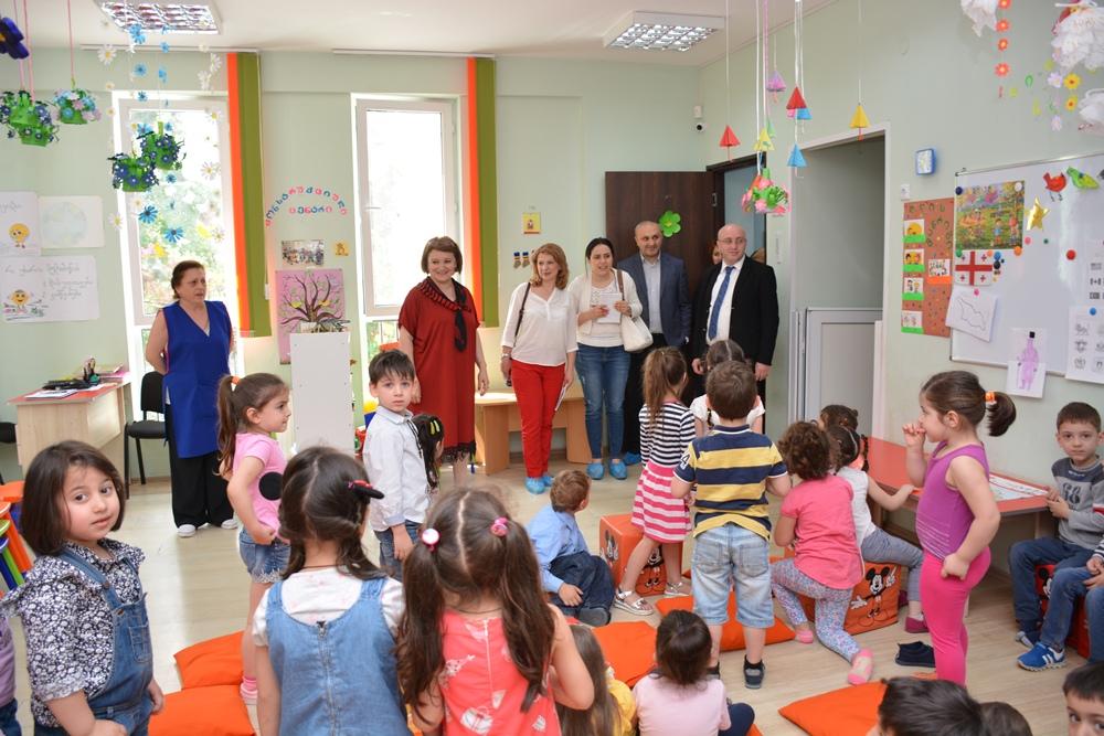თბილისის N79 ბაგა-ბაღს ორგანიზაცია Save the Children-ის სომხეთის ოფისის წარმომადგენლები ეწვივნენ
