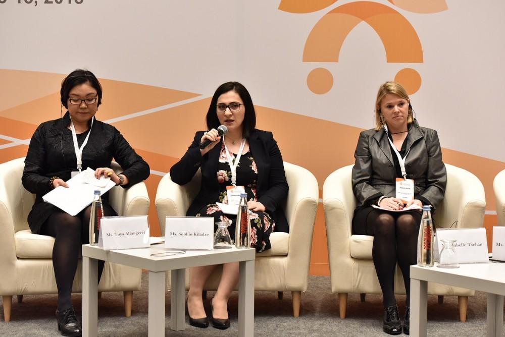 სოფო კილაძემ საერთაშორისო კონფერენციაზე პარლამენტისა და იურიდიული დახმარების სამსახურის თანამშრომლობის საუკეთესო პრაქტიკაზე ისაუბრა