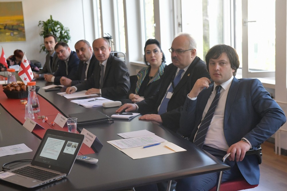 ირაკლი კობახიძე შვეიცარიის კონფედერაციის განათლების, კვლევებისა და ინოვაციების სახელმწიფო მდივანს შეხვდა
