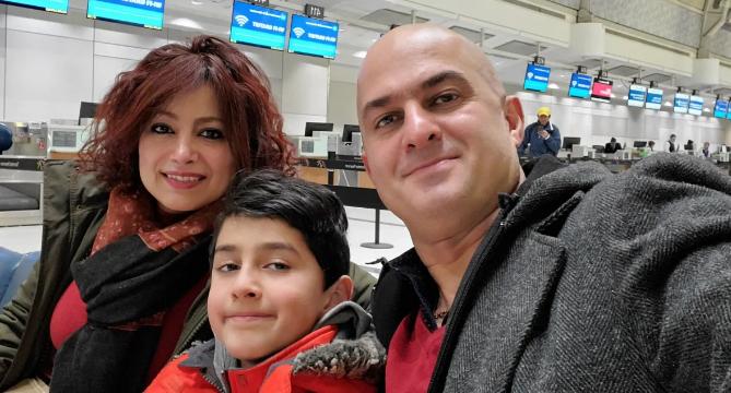 შემთხვევამდე რამდენიმე წუთით ადრე - ნახეთ კანადელი ოჯახის ისტორია ავიაკატასტროფამდე