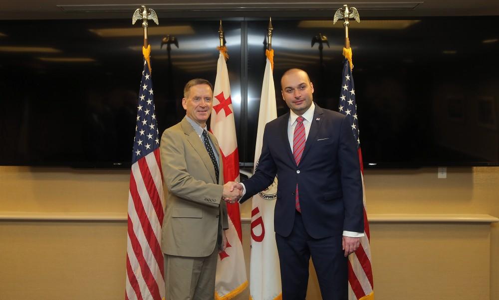 USAID-ი საქართველოს ერთ-ერთი ყველაზე წარმატებულ პარტნიორად მიიჩნევს და ქვეყნის დემოკრატიულ ტრანსფორმაციას მიესალმება