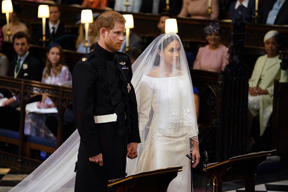 პრინცი ჰარი და მეგან მარკლი დაქორწინდნენ