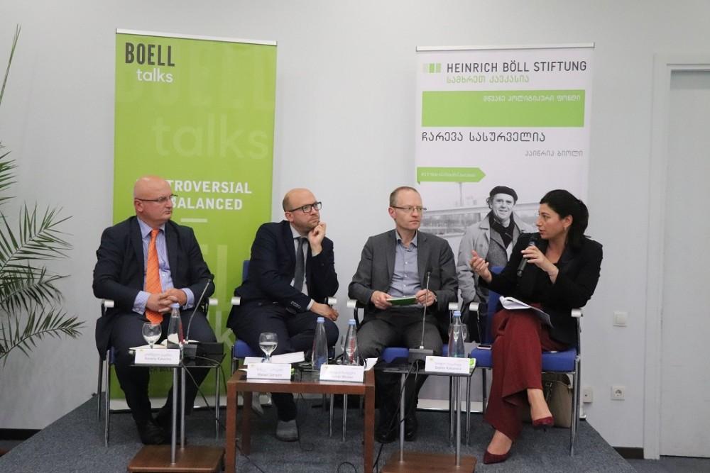 """სოფიო ქაცარავამ მონაწილეობა მიიღო დისკუსიაში """"საქართველო და ევროკავშირი- აღმოსავლეთ პარტნიორობის საერთო ხედვის ძიებაში"""""""