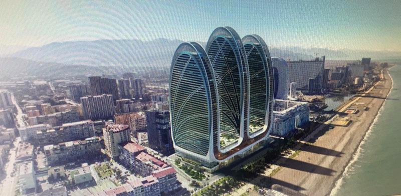ბათუმში 3 თაუერი აშენდება – უმაღლესი ნიშნული 182 მეტრია