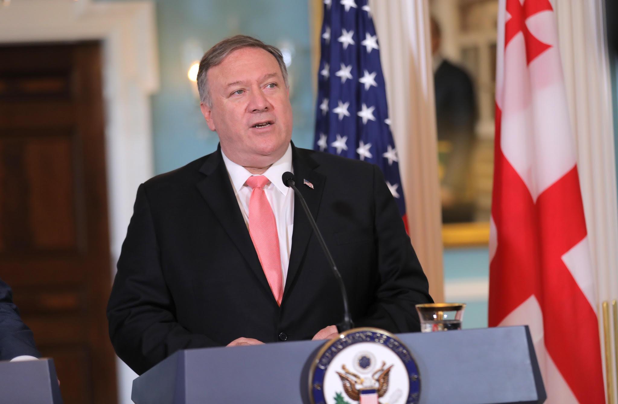 მაიკლ პომპეო: საქართველო საერთაშორისო ტურიზმის დანიშნულების ცენტრი, აშშ-ის სტრატეგიული პარტნიორი და გლობალური უსაფრთხოების ძალისხმევის მონაწილეა